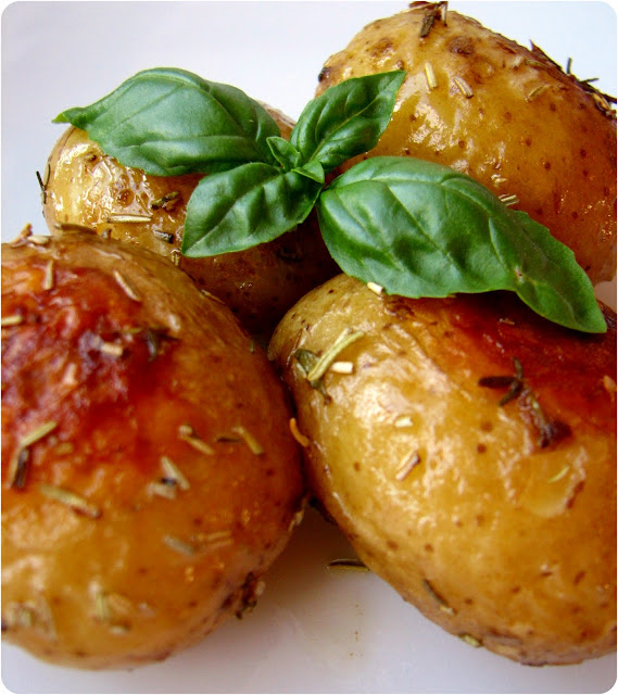 Ovnkartofler med krydderurter