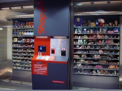 máquina gigante de vending