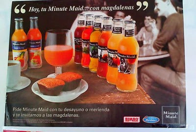 Cobranding: Bimbo y Minute Maid