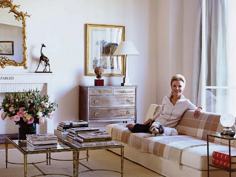 Lee radziwill 39 s apartments in upper eastside manhattan for Elle decor india contact