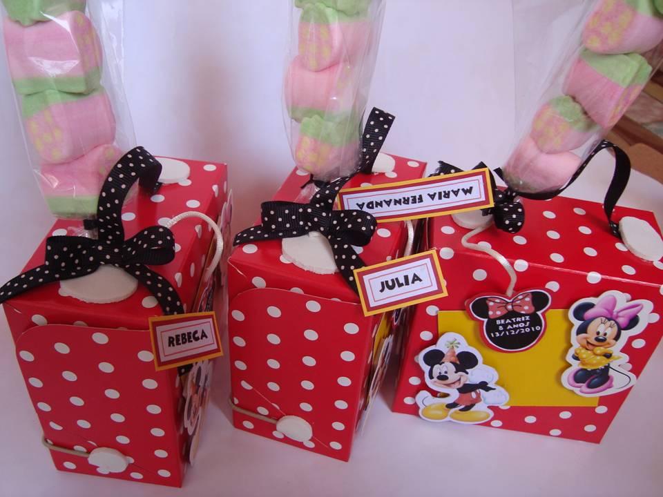 Lembrancinhas para Festa da Minnie - Dicas pra Mamãe