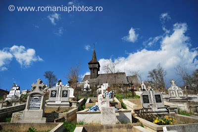 Romania, Maramures: Salistea de Sus village