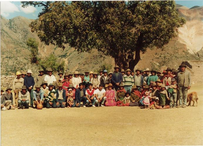 Fotografia : Reunion de los Padres y Madres con sus hijos y los profesores