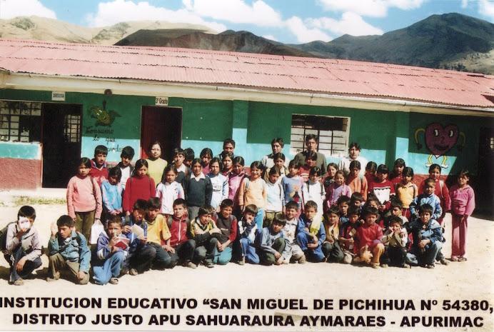 Institución Educativa Señor Ánimas de Pichihua