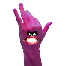 Angry Back hander......
