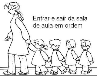 COMBINADOS DE TURMA, REGRAS PARA EDUCAÇÃO INFANTIL