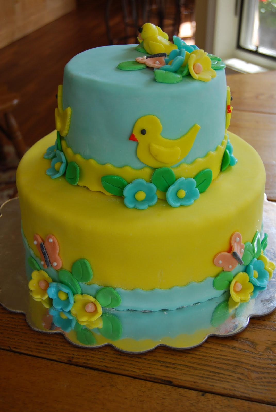 Gamma Susies This n That Baby Shower Cake