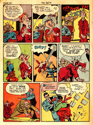 Classic vintage comic book THE SPIRIT