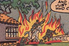 Cartoon flames