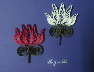Daydreams Quilled Lotus
