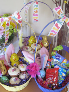 Jennie c l pike easter treats my easter baskets for lily and neil mum and dad and becky and dougie mum becky and i all had a set of rabbit ears and the boys got aerodynamic rugby negle Images