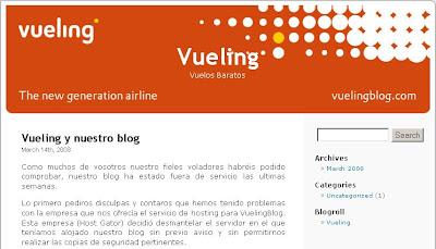 Blogs Corporativos - Vueling Blog