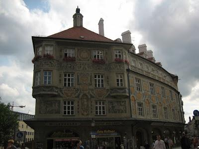 Fachada en Munich