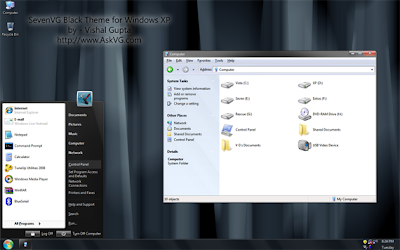 Tema Windows seven para XP