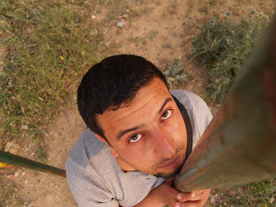 self portrait,karim2k, mouse hunter, Zaghouan, Zagwane, Tunisia,