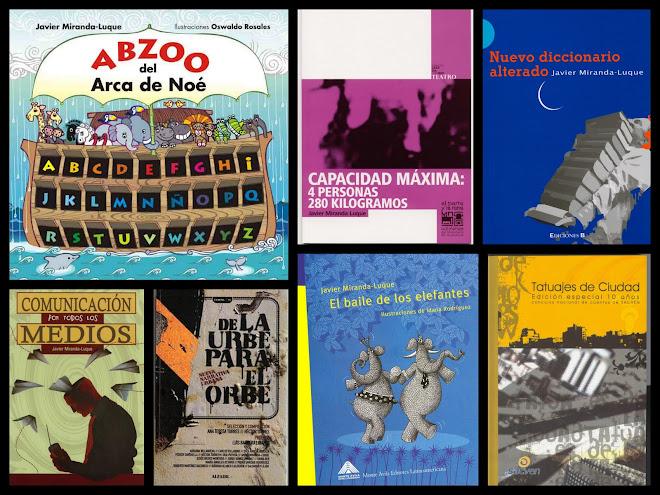 portadas de mis libros