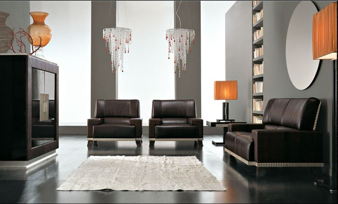 Luxury furniture modern living room design interior decoration gallery - Modern room luxury ...