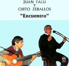 CHITO ZEBALLOS Y EL MAESTRO JUAN FALU