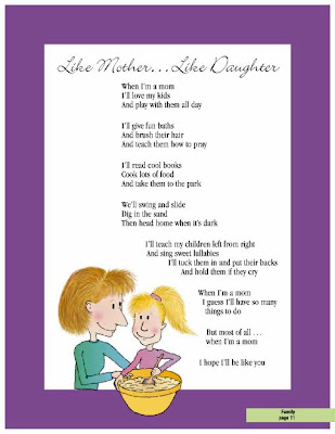 And I will love you forever and always. poem from daughter to mom pic