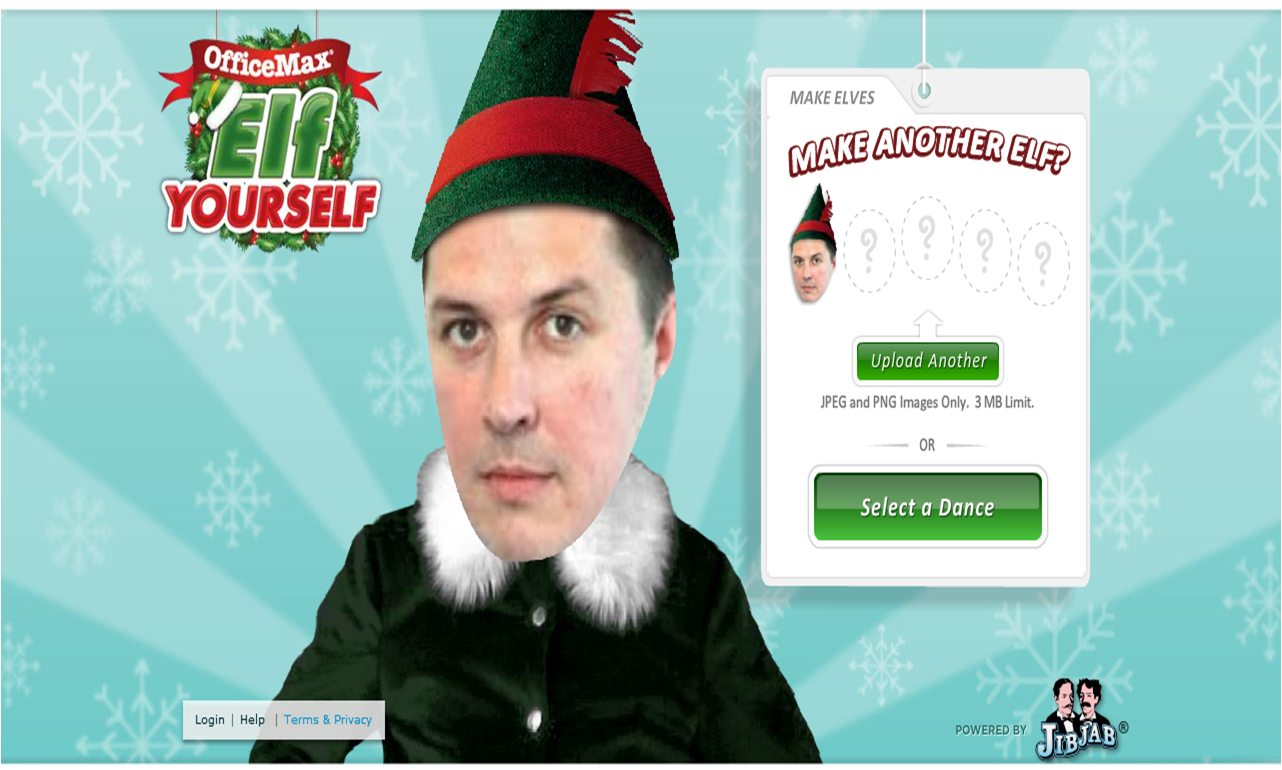 1282 x 770 png 1082kB, Uploading photos to create an Elf Yourself ...