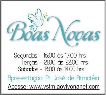 """programa """" Boas Novas """""""