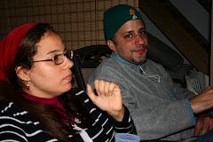 Farah Hallal y Héctor Then