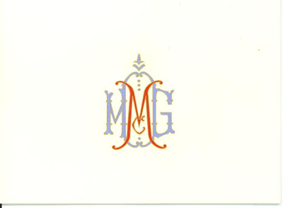 hayden avery fine stationery custom monograms