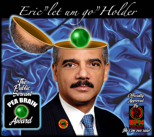 eric holder criminal