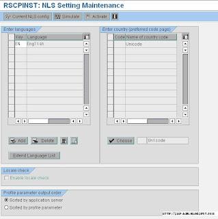 Instalar idioma Español en SAP Netweaver