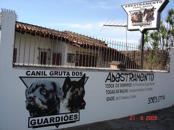 Sede do Canil Gruta dos Guardiões