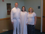 Alex's baptism !
