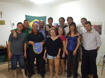 GRUPO DE JOVENS DO BRASIL QUE PARTICIPARAM DO INTERCÂMBIO CULTURAL COM A REGIÃO DO VÊNETO/ITALIA