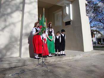 PARTICIPAÇÃO DA SOCITÀ AMICI D'ITALIA POLESANI NEL MONDO NAS ATIVIDADES DA SEMANA DA PÁTRIA 07/09/1
