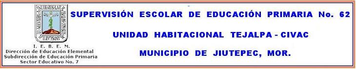 Zona Escolar de Educación Primaria No. 62
