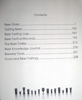 The Beer Journal contents