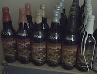 A collection of Three Floyds Dark Lord