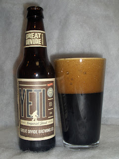 Great Divide Yeti 2009 label