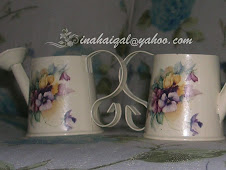 Mini Watering Can ~ Cream