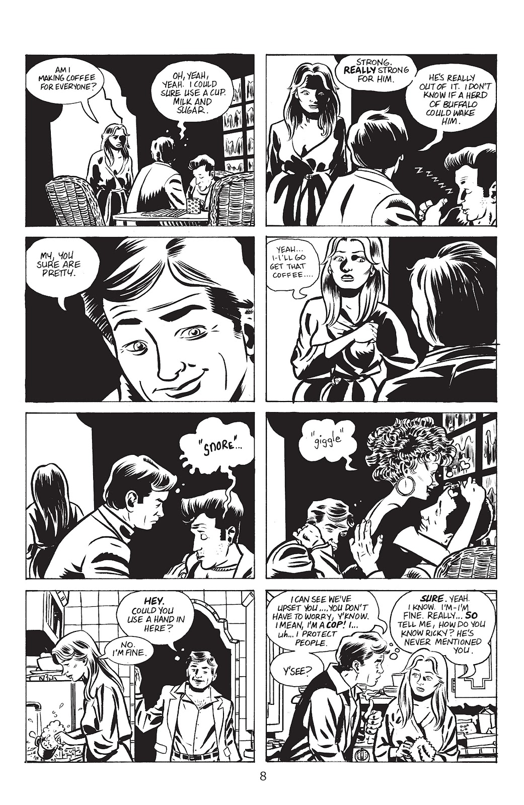 Stray Bullets Issue #17 #17 - English 10