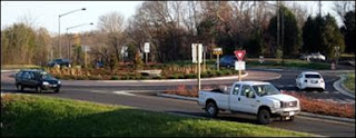 VDOT Roundabouts at Gilberts Corner in Loudoun County