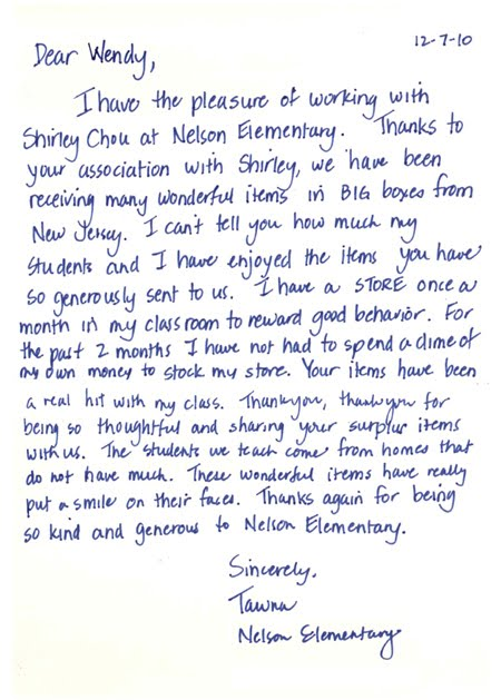 Flomo wholesale flomo receives thank you letter card from flomo receives thank you letter card from hacienda la puente unified school districts nelson elementary school in la puente california spiritdancerdesigns Images