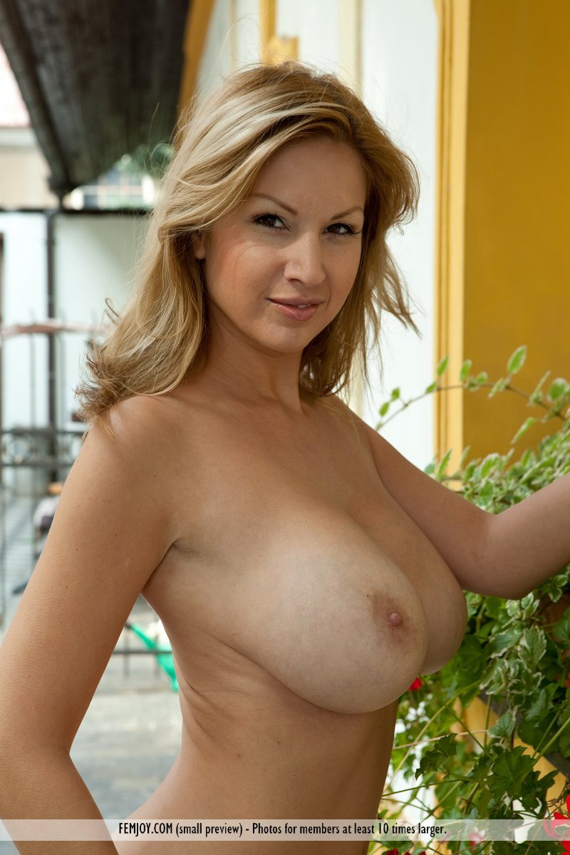 Perfect large breasts