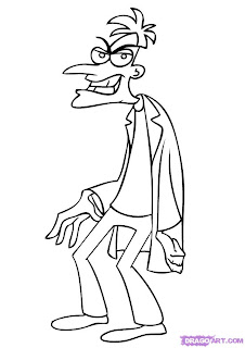 Phineas and Ferb the coloring pages