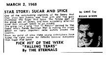 Newspaper Clip 1968