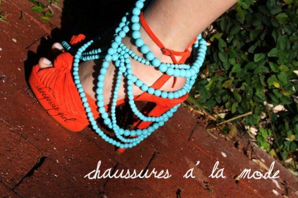 Chaussures á la mode
