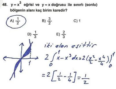 2010 lys matematik 48. soru ve çözümü