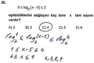 2010 lys matematik 28. soru ve çözümü