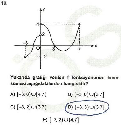 2010 lys matematik 10. soru ve çözümü