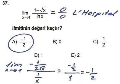2010 lys matematik 37. soru ve çözümü