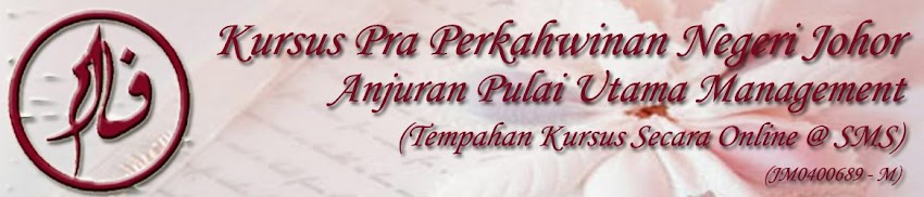 KURSUS PERKAHWINAN NEGERI JOHOR